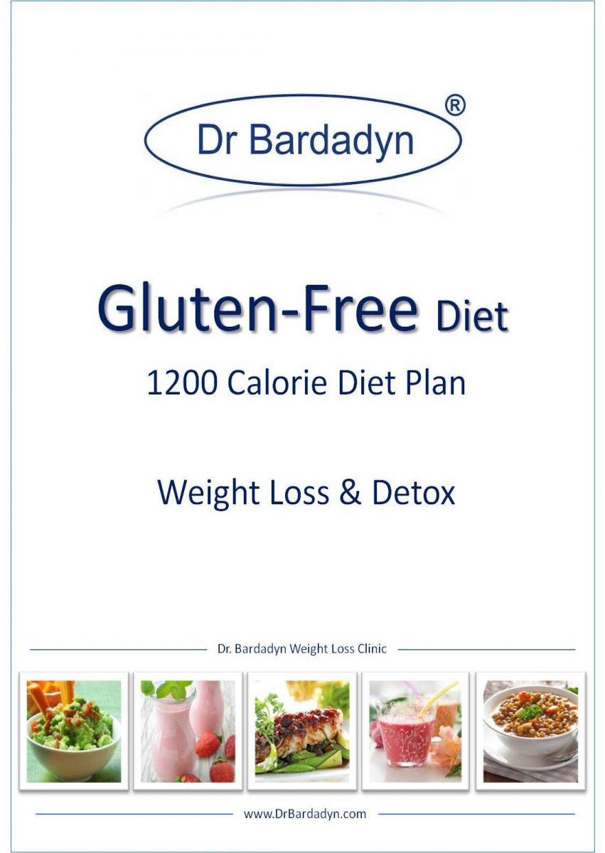 Gluten Free Diet 1200 Calorie Diet Plan