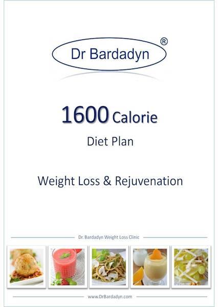 1600 Calorie Diet Plan Weight Loss Rejuvenation