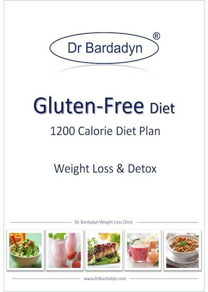Gluten Free Diet - 1200 Calorie Diet Plan